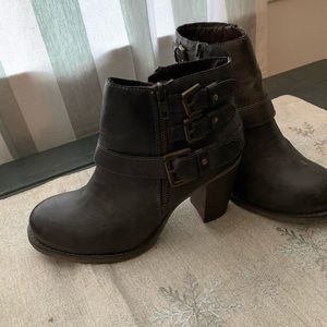 Altar'd State Slate Gray Booties